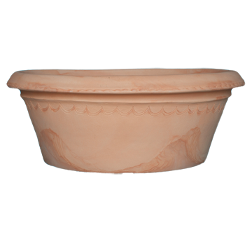 Conca Ligure Round Traditional Terracotta  Planters