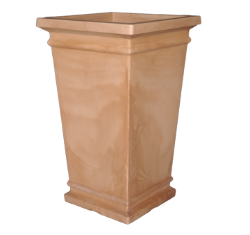 Quadro Alto Tall Conical Terracotta Planter