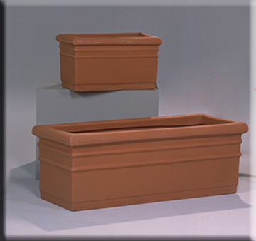 traditional rectangular planters
